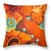 Saffron Throw Pillow