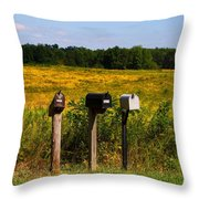 Saffron Throw Pillow