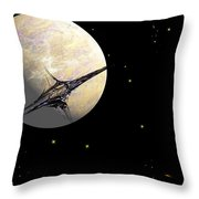 Sagan Station At Betelgeuse  IIi Throw Pillow