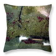 Sage And Plum Throw Pillow