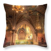 Sage Chapel II Throw Pillow