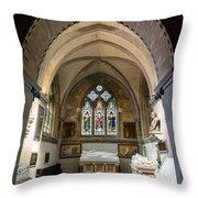 Sage Chapel Memorial Room Throw Pillow