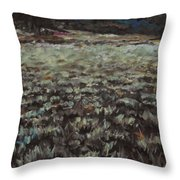 Sage Song Throw Pillow