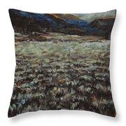 Sage Song Throw Pillow