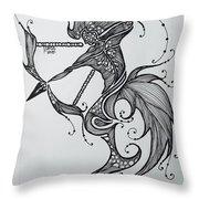 Sagittaurus Throw Pillow