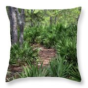 Sago Trail Throw Pillow