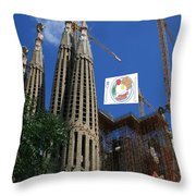 Sagreda Project Throw Pillow