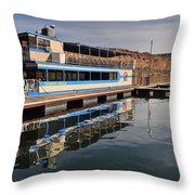 Saguaro Lake Desert Belle Throw Pillow