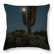 Saguro At Moonlight-img_1593-2016 Throw Pillow