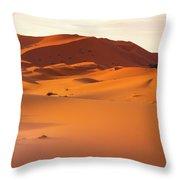 Sahara Dessert - Morocco Throw Pillow