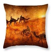 Sahara Throw Pillow