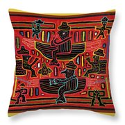 Sahilas And Argars In Their Hammocks Throw Pillow