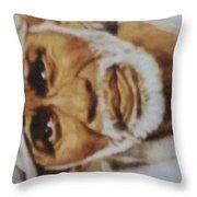 Sai Baba Throw Pillow
