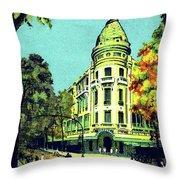 Saigon, Ho Chi Mihn City, Vietnam Throw Pillow