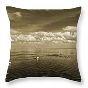 Sail Boats 1 Throw Pillow