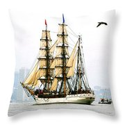 Europa And Adirondack Throw Pillow