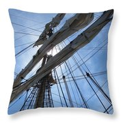 Sail Bristol Throw Pillow