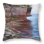 Sail Into The Light Throw Pillow by Jan Byington