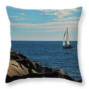 Sail View Throw Pillow