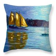 Sailboat-  Sailing- Come Sail Away Throw Pillow