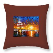 Sailer Throw Pillow