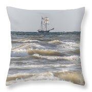 Sailin Home Throw Pillow