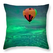 Sailing Above The Storm Throw Pillow