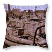 Sailing Anyone Throw Pillow