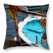 Sailing Dories 1 Throw Pillow