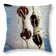 Sailing Dories 2 Throw Pillow