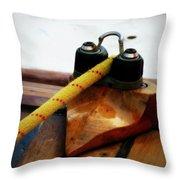 Sailing Dories 3 Throw Pillow