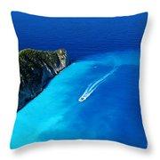 Sailing I Throw Pillow