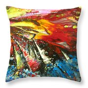 Sailing Impression 02 Throw Pillow