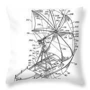 Sailing System Throw Pillow