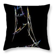 Sailing The South China Sea Throw Pillow