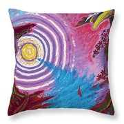 Sailing Through My Thoughts Throw Pillow