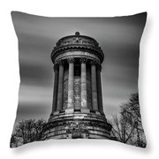 Sailors And Soldiers Monument Throw Pillow