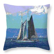 Sailors Delight Throw Pillow