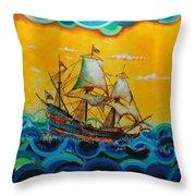 Sailors Throw Pillow