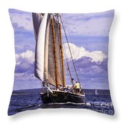 Sailor's Serenity Throw Pillow