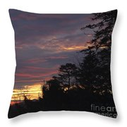 Sailors Take Warning Throw Pillow