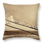 Sailors V2 Throw Pillow