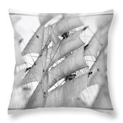 Sails Throw Pillow