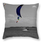 Sails In Color Throw Pillow