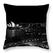 Sails In The Night Throw Pillow