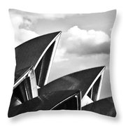 Sails Of Sydney Opera House Throw Pillow