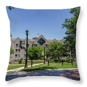 Saint Augustine Center For The Liberal Arts Throw Pillow