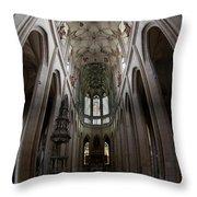 Saint Barbara's Church, Kutna Hora Throw Pillow