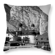 Saint Bartoloma On Konigssee Lake Throw Pillow