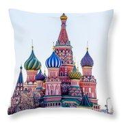 Saint Basils Cathedral Throw Pillow